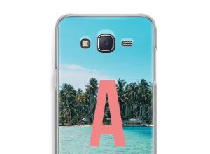 Concevez votre propre coque monogramme Galaxy J5 (2015)