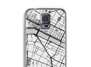 Mettez une carte de ville sur votre coque Galaxy S5