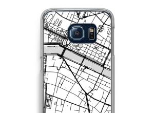 Mettez une carte de ville sur votre coque Galaxy S6 Edge
