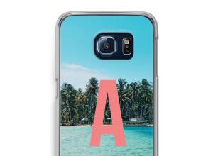 Concevez votre propre coque monogramme Galaxy S6 Edge