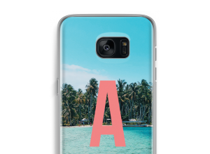 Concevez votre propre coque monogramme Galaxy S7 Edge