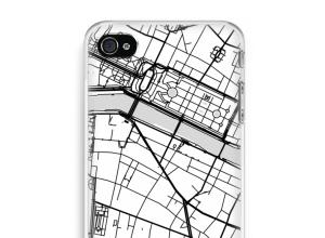 Mettez une carte de ville sur votre coque iPhone 4 / 4S