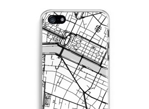 Mettez une carte de ville sur votre coque iPhone 5 / 5S / SE