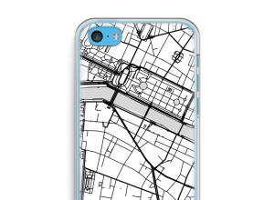 Mettez une carte de ville sur votre coque iPhone 5c