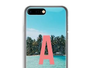 Concevez votre propre coque monogramme iPhone 7 PLUS