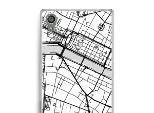 Mettez une carte de ville sur votre coque Xperia Z5