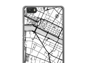 Mettez une carte de ville sur votre coque Ascend P8 lite (2016)
