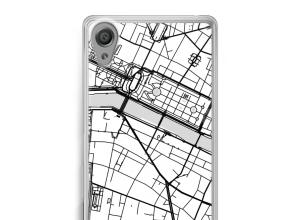 Mettez une carte de ville sur votre coque Xperia XA