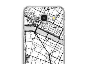 Mettez une carte de ville sur votre coque Galaxy J7 (2016)