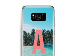Concevez votre propre coque monogramme Galaxy S8