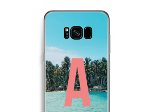 Concevez votre propre coque monogramme Samsung Galaxy S8 Plus