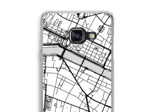 Mettez une carte de ville sur votre coque Galaxy A3 (2017)