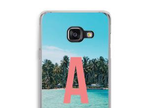 Concevez votre propre coque monogramme Galaxy A3 (2017)