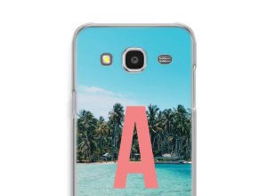 Concevez votre propre coque monogramme Galaxy J7 (2015)