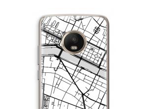 Mettez une carte de ville sur votre coque Moto G5 Plus