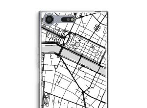 Mettez une carte de ville sur votre coque Xperia XZ Premium