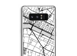 Mettez une carte de ville sur votre coque Galaxy Note 8