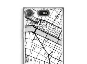 Mettez une carte de ville sur votre coque Xperia XZ1 Compact