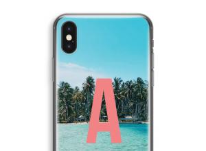 Concevez votre propre coque monogramme iPhone X