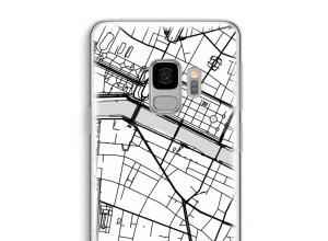 Mettez une carte de ville sur votre coque Galaxy S9
