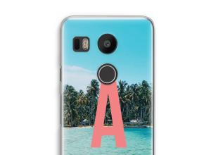 Concevez votre propre coque monogramme Nexus 5X