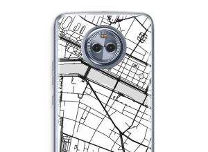 Mettez une carte de ville sur votre coque Moto X4