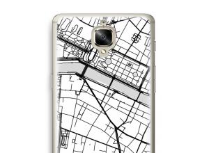 Mettez une carte de ville sur votre coque Oneplus 3T