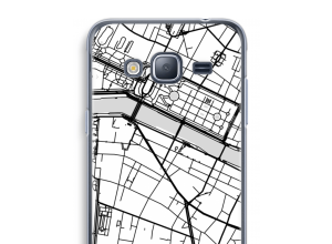 Mettez une carte de ville sur votre coque Galaxy J3 (2016)