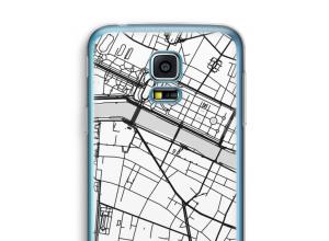Mettez une carte de ville sur votre coque Galaxy S5 mini