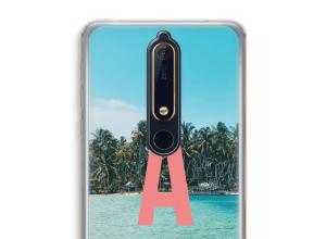 Concevez votre propre coque monogramme Nokia 6 (2018)