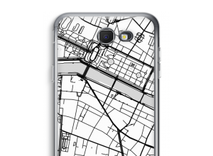 Mettez une carte de ville sur votre coque Galaxy J7 Prime (2017)