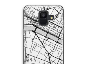 Mettez une carte de ville sur votre coque Galaxy A6 (2018)