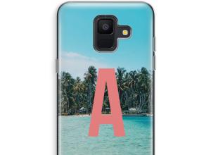 Concevez votre propre coque monogramme Galaxy A6 (2018)