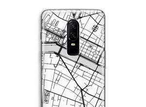 Mettez une carte de ville sur votre coque OnePlus 6