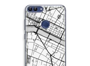 Mettez une carte de ville sur votre coque P Smart (2018)