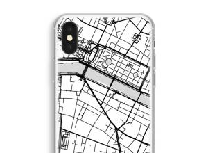 Mettez une carte de ville sur votre coque iPhone XS