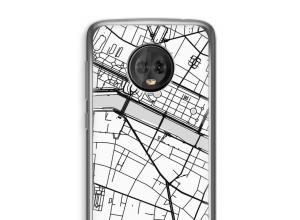 Mettez une carte de ville sur votre coque Moto G6 Plus