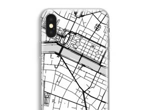 Mettez une carte de ville sur votre coque iPhone XS Max
