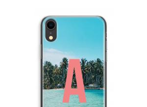 Concevez votre propre coque monogramme iPhone XR