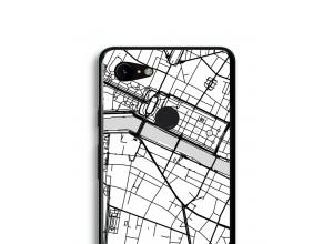 Mettez une carte de ville sur votre coque Pixel 3 XL