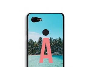 Concevez votre propre coque monogramme Pixel 3 XL