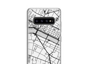 Mettez une carte de ville sur votre coque Samsung Galaxy S10 Plus
