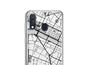 Mettez une carte de ville sur votre coque Galaxy A40