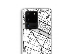 Mettez une carte de ville sur votre coque Galaxy S20 Ultra