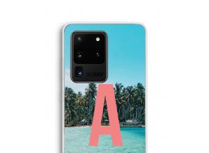 Concevez votre propre coque monogramme Galaxy S20 Ultra
