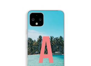 Concevez votre propre coque monogramme Pixel 4