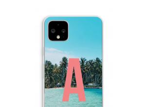 Concevez votre propre coque monogramme Pixel 4 XL