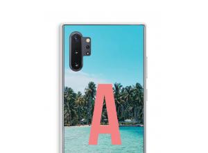 Concevez votre propre coque monogramme Galaxy Note 10 Plus