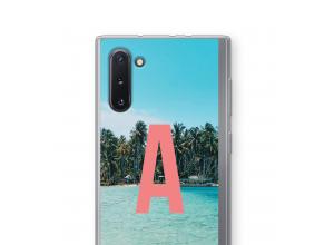 Concevez votre propre coque monogramme Galaxy Note 10