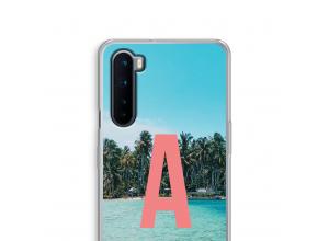 Concevez votre propre coque monogramme OnePlus Nord